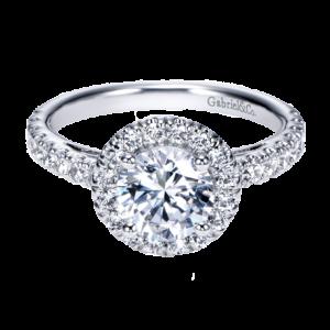 Halo Engagement Ring Gabriel