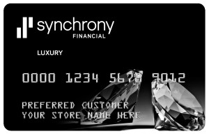 Credit financing by Synchrony