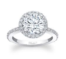 Halo Diamond Engagement Rings Coral Springs