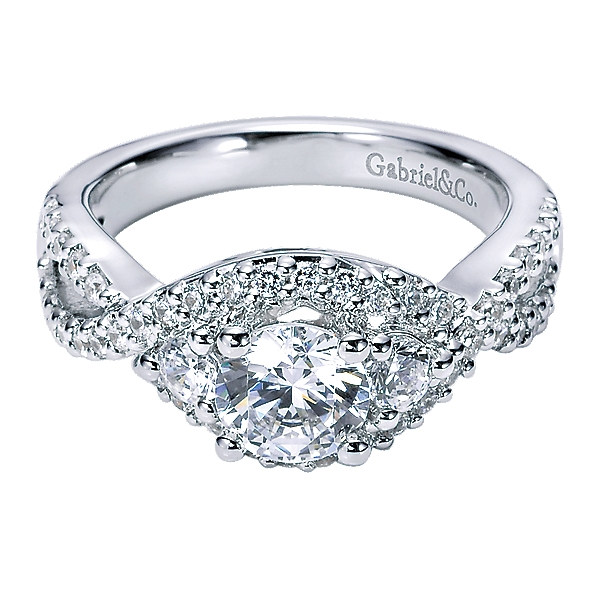 Gabriel&Co Engagement Ring ER5887