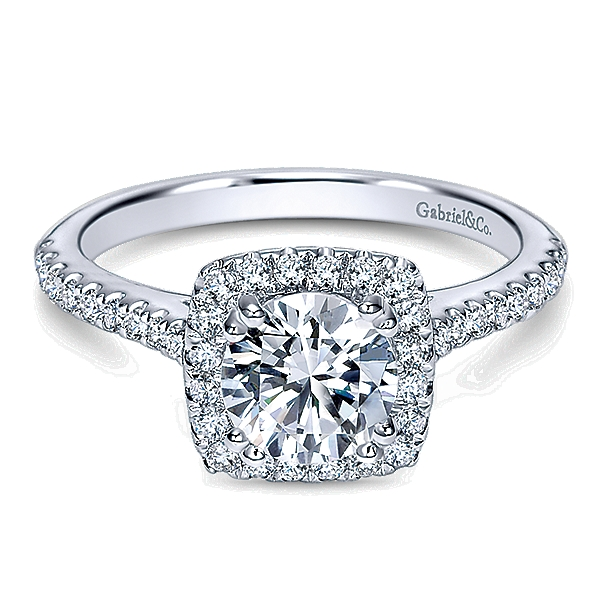 Gabriel & Co Engagement Ring Er8152
