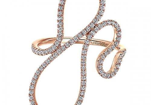 Gabriel&Co. 14k Gold Diamond Fashion Ring