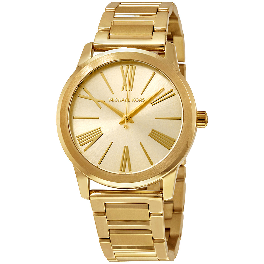 Michael Kors Hartman Gold Watch MK3490