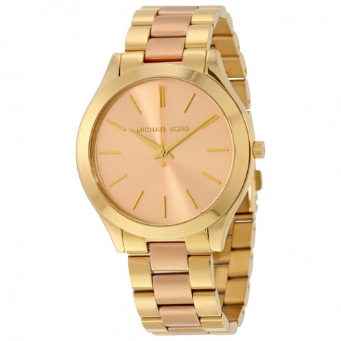 Michael Kors Gold Runway mk3493 Watch