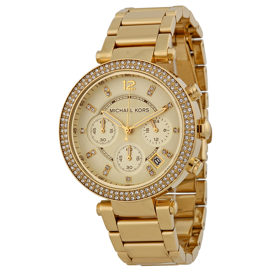 Michael Kors Gold Parker Watch