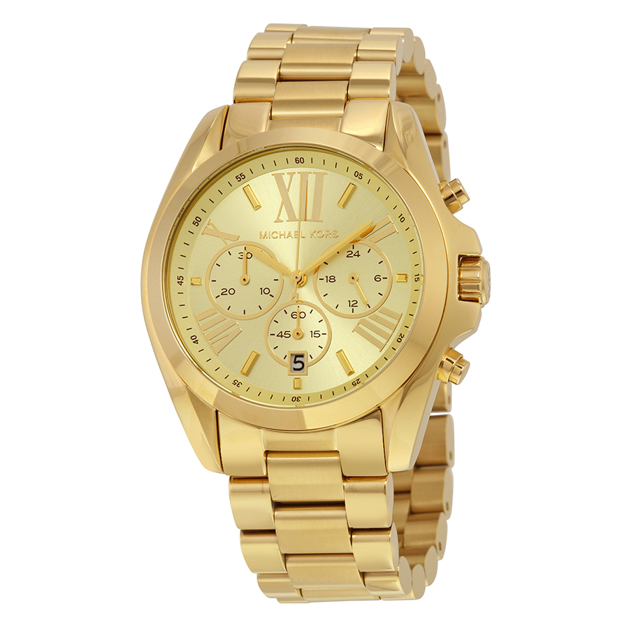 Michael Kors Gold Bradshaw Watch