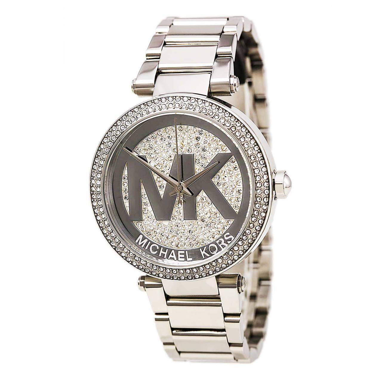 e65a9e9c17ff Michael Kors Parker Stainless Steel Women s Watch