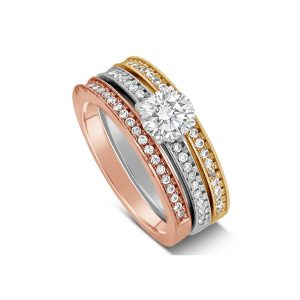 Different Metal Colors for engagement rings