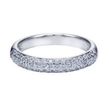 Pave Wedding Ring Gabriel and Co