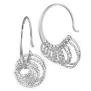Frederic Duclos e291 Silver Earrings