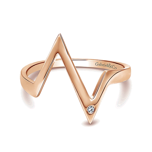 Gabriel & Co – 14k Gold Midi  Ladies' Ring
