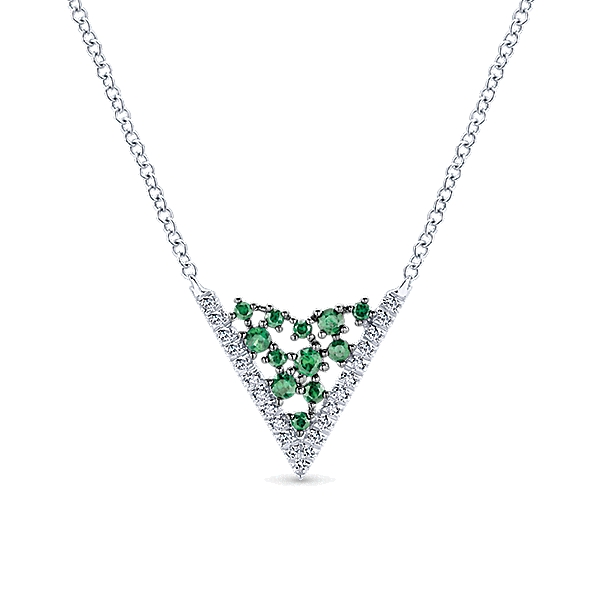 gabriel-14k-white-gold-diamond-and-emerald-fashion-necklace