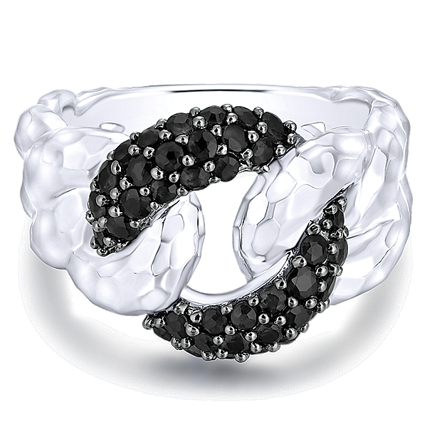 gabriel-925-silver-black-spinel-fashion-ladies-ring