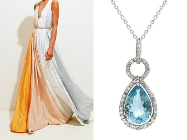 aquamarine jewelry and fashion