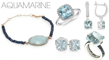 March Birthstone:  Aquamarine